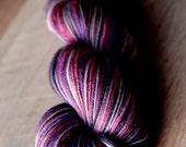 Sock Yarn - 80/10/10 SW Merino/Cashmere/Nylon - Valentine's Day - S.W.A.K.