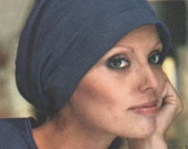 Jean Muir hats & scarf pattern for stretch knits -- Vogue Couturier Design 1148