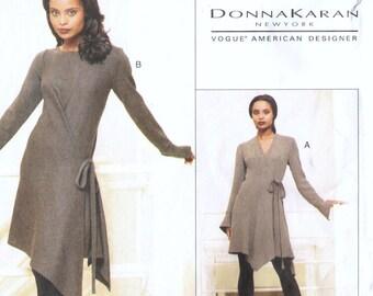 Donna Karan dress pattern in 3 styles -- Vogue American Designer 1634