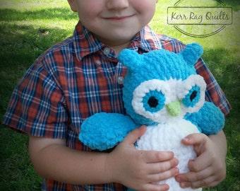 Soft Crochet Owl