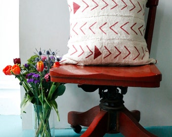 Fletcher Bogolan Pillow Cover (de)constructed