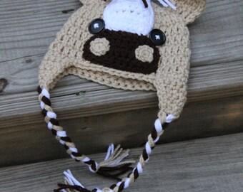 Pony Hat, Crochet Pony Hat, Pony Beanie, Crochet Pony Beanie, Crochet Horse Hat, Horse Beanie, Newborn Pony Hat, Newborn Hat, Mrs Vs Crochet