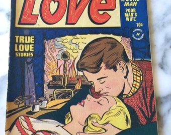 First Love #11 March 1951 Magazine Comic Book Romance