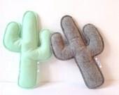 Cactus pillow, Cactus nursery, Cactus Cushion, Baby decor, Nursery Decor, Adventure Nursery, Baby Gift Cactus Plush, Saguaro Cactus