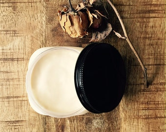 Body butter - Vanilla Dream Cream - Pure Essential Oils and Botanicals - BEST SELLER