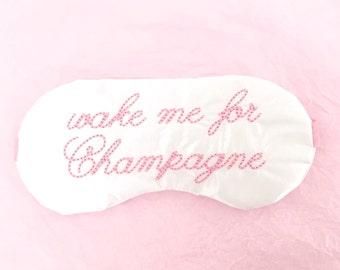 WAKE ME for CHAMPAGNE sleep mask