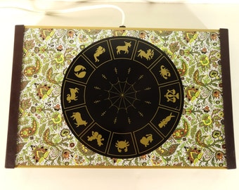 Zodiac Paisley Electric Warming Tray Vintage Buffet Hot Plate Mid Century Warm-O-Tray