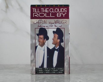 Vintage VHS Tape Till The Clouds Roll By 1946 Van Heflin Robert Walker June Allyson 1995 Remaster Celebrity All Star Theater, Musical