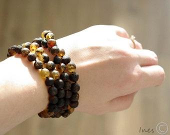 Baltic Amber Unpolished Necklace, Bracelet Or Anklet
