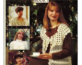 Very Vests Book 1 Crocheted Women Vest Patterns  Leisure Arts Leaflet 2499