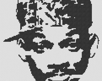 PATTERN: Fresh Prince Will Smith Cross Stitch