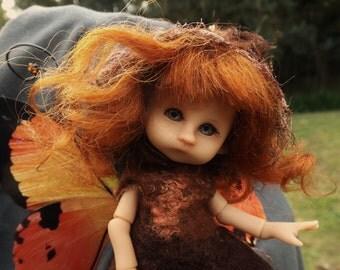 tiny bjd tan  Mimby   fairy elf fairie full set dressed ready to ship