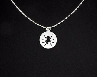 Tarantula Necklace - Tarantula Jewelry - Tarantula Gift - Spider Necklace - Spider Jewelry - Spider Gift