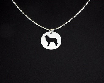 Leonberger Necklace - Leonberger Jewelry - Leonberger Gift