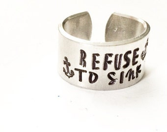 Refuse to Sink Anchor Ring