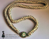 Beaded rope tutorials CRAW embellished rope beaded jewelry INSTANT DOWNLOAD