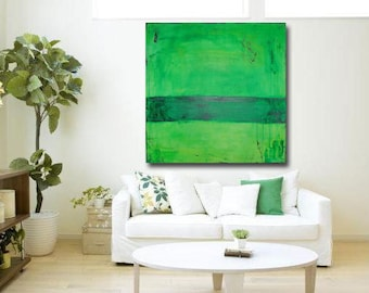 green painting living room decor interior design home interiors original abstract painting living room wall decor by cheryl wasilow