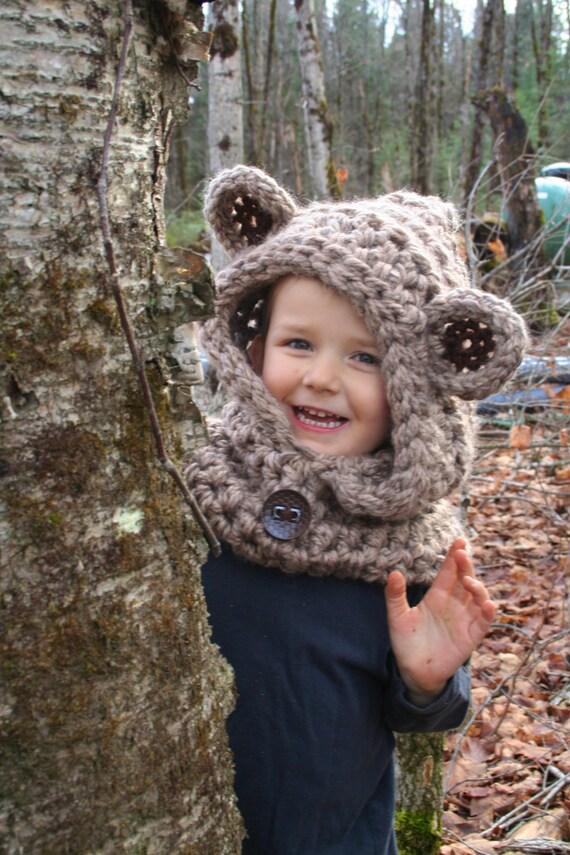 Teddy Bear Cowl Crochet Pattern Free Pakbit For