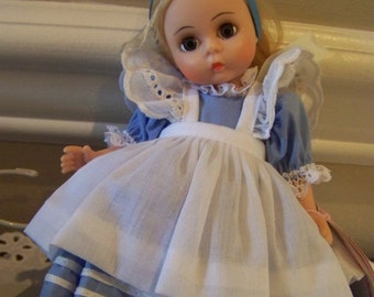 Alice in Wonderland 8 inch#3 (with eyelet straps) Madame Alexanader doll #3