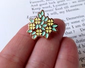 Primrose Soft Enamel Pin - Shakespeare's Flowers