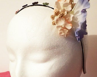 Floral Jeweled Headband