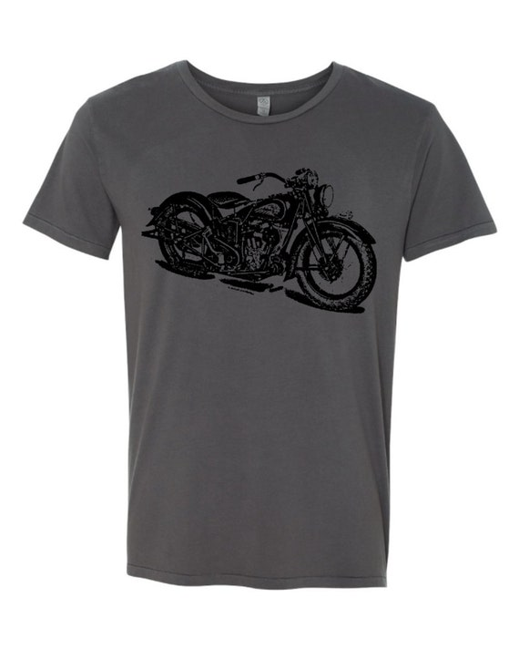 mens vintage indian motorcycle biker clothing cotton retro