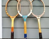 Vintage Wood Tennis Racket MidCentury Bancroft Cortland Collegian Davis Classic Tennis Racket Wall Decor Vintage Sporting Goods Retro Tennis