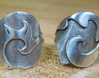 Tu y Yo Rings (B silver)