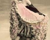 Can Can Dancer Saharet - New 4x6 Vintage Postcard Image Photo Print - SA002