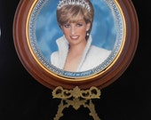 Vintage Franklin Mint Princess Diana Collectors Plate, Princess of Wales