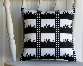 MST3K - Small Throw Pillow - Mystery Science Theater