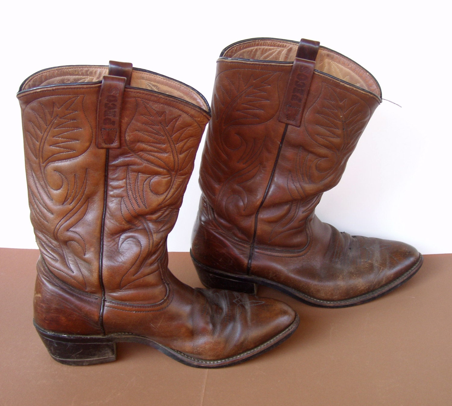 clearance sale wing pecos mens leather cowboy work boots