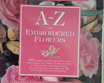 A-Z of Embroidered Flowers - Country Bumpkin Publications