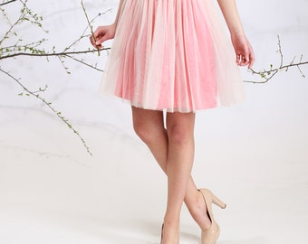Sunset Fairy - short tulle skirt