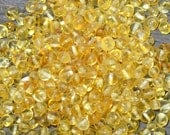 Lemon Baltic Amber beads with drilled hole. 100pcs. - Best Amber Quality from Lithuania