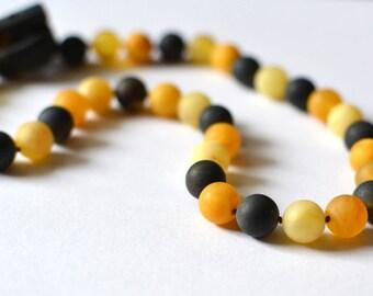 Amber Necklace Organic Baltic Amber Jewelry Winter Fashion Modern Amber