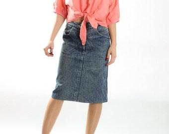 Vintage Pink Bow Top / Pink Polka Dot Tank Top Retro 90s / Wrap Tie Club Kid Cottonr Shirt / Womens Size Medium Large Oversized