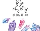 Custom pendant for Syd