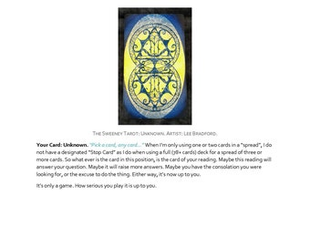 6 card tarot card reading