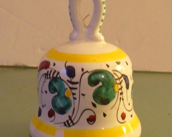 Made in Italy Ceramic Bell