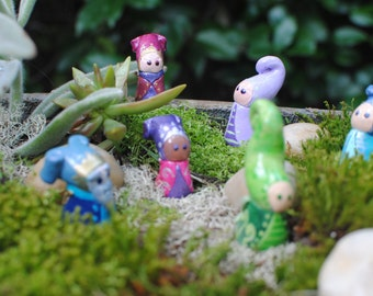 Made to Order Fairy Figurine, Dwarf Figurine, Gnome Figurine, Fairy Garden, Mini Fairy, Fairy Doll, Sculpted Doll, Garden Fairy, Whimsical