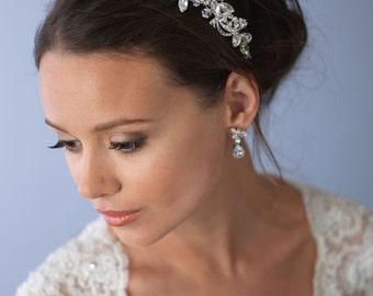 Crystal Wedding Headband, Rhinestone Bridal Headband, Bridal Hair Accessory, Rhinestone Headband, Bridal Headpiece, Bride Headband ~TI-3245