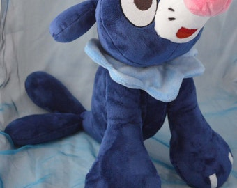 Popplio Pokemon Sun and Moon Minky Plush Toy MADE TO ORDER