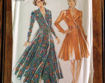 New Look Dress Pattern from the Eighties, Sizes 8 - 18