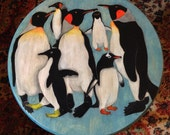 """PENGUIN PARTY 18"""" Stool"""