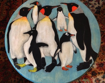 "18"" STOOL - Penguin Party"
