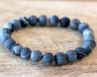 Grey Stone Man Bracelet