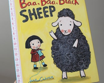 Baa, Baa, Black Sheep. Children's book