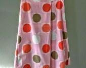 Orla Kiely Full Skirt / Misses Size Small / Cotton Lines Skirt / Designer Skirt