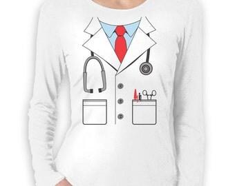 Doctor Halloween Costume - Women's Long Sleeve T-Shirt
